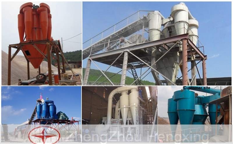 Super Fine Rotor Powder Concentrator