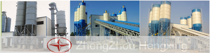 Fly Ash AAC Storage Silo